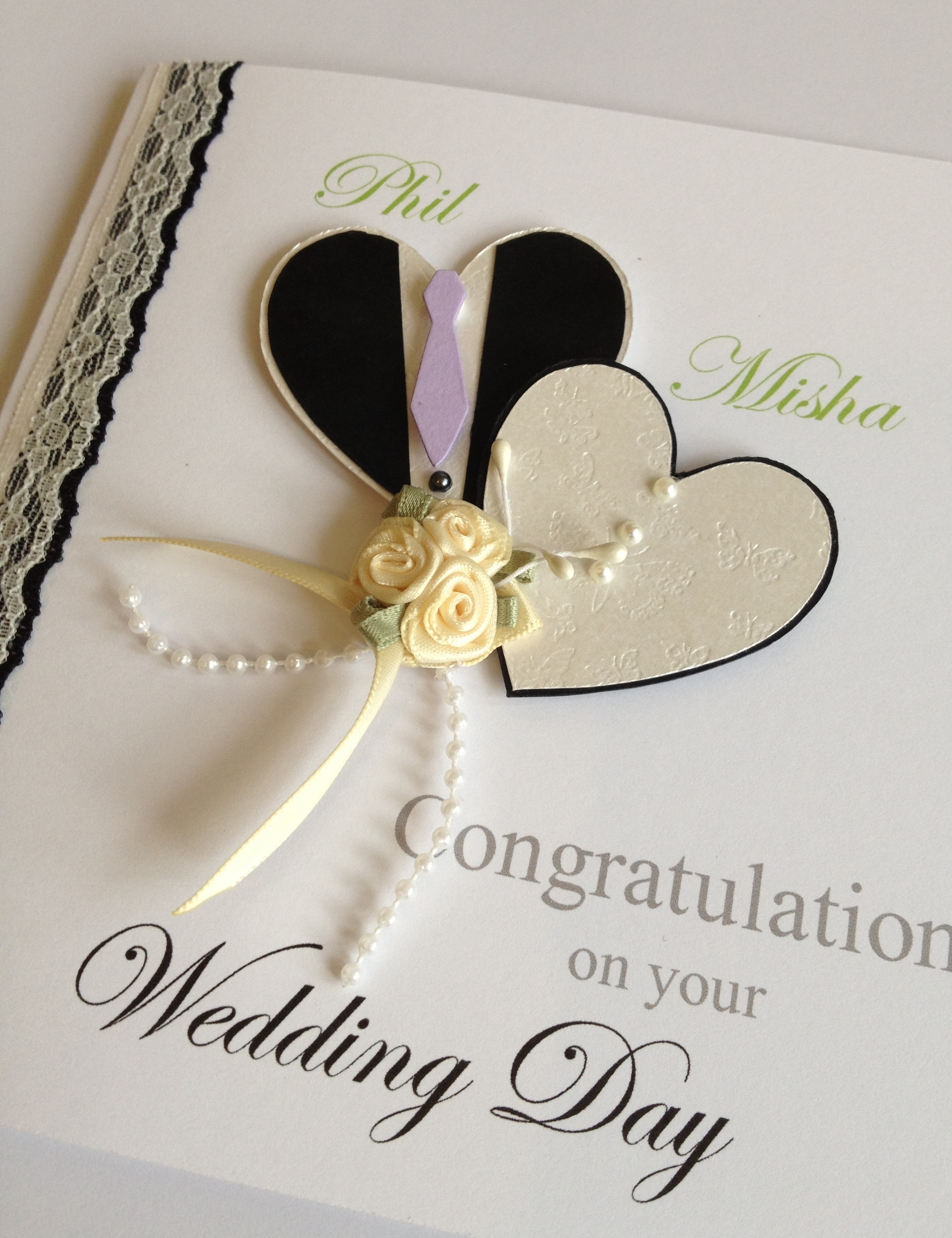 This Card Was Requested For A Customer That Going To Her Close Friends Wedding Abroad Brief Keep It Simple But Elegant As The Friend Herself